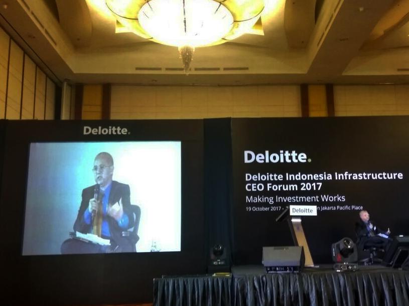 Deloitte Infrastructure CEO Forum 2017 Project Requires Public Private Collaboration